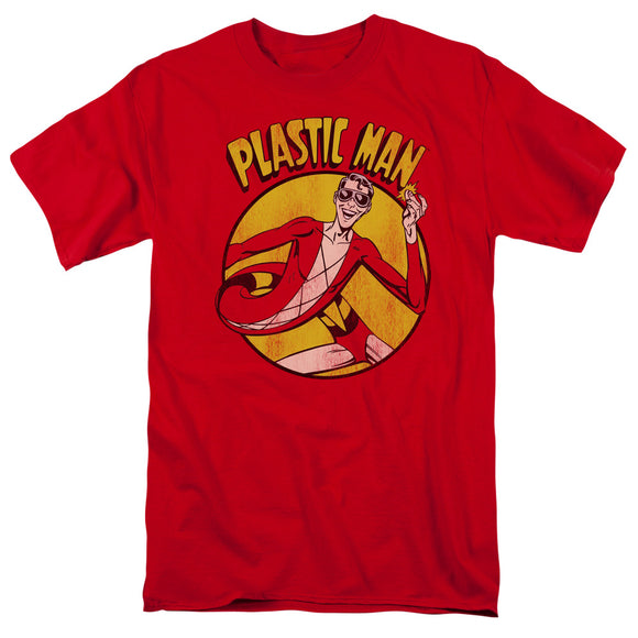 Dc - Plastic Man Short Sleeve Adult 18/1 - 88apparelcompany