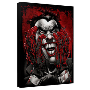 Batman - Blood On Hands Canvas Wall Art With Back Board - 88apparelcompany