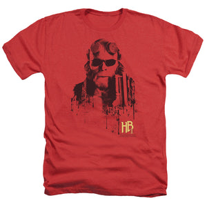 Hellboy Ii - Splatter Gun Adult Heather - 88apparelcompany