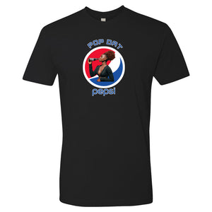 Pop dat  - Unisex Short Sleeve Cotton Tee