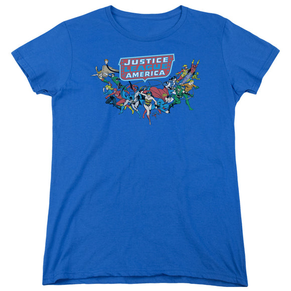 Dc - Here They Come Short Sleeve Women's Tee - 88apparelcompany