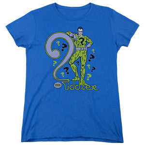 Dc - The Riddler Short Sleeve Women's Tee - 88apparelcompany