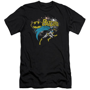 Batman - Batgirl Halftone Premium Canvas Adult Slim Fit 30/1 - 88apparelcompany