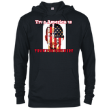 True American French Terry Hoodie - 88apparelcompany