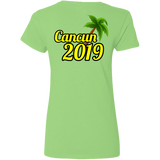 Cancun 2019 Gildan Ladies' 5.3 oz. V-Neck T-Shirt