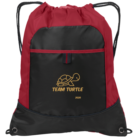Team Turtle 2  Port Authority Pocket Cinch Pack