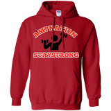 Stay strong Pullover Hoodie 8 oz. - 88apparelcompany