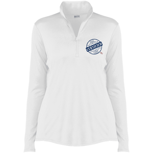 SPU Say Less Ladies' Competitor 1/4-Zip Pullover