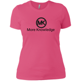 More Knowledge Next Level Ladies' Boyfriend T-Shirt - 88apparelcompany