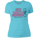 Conceited Next Level Ladies' Boyfriend T-Shirt - 88apparelcompany