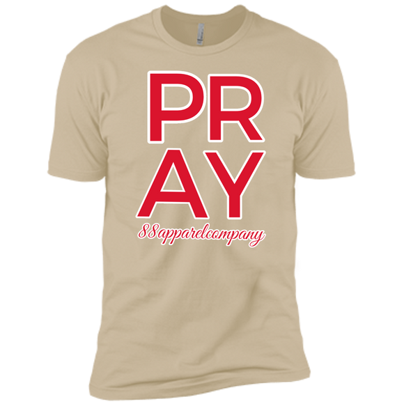 Pray Premium Short Sleeve T-Shirt - 88apparelcompany