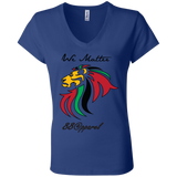 B6005 Bella + Canvas Ladies' Jersey V-Neck T-Shirt - 88apparelcompany