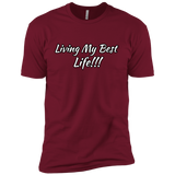 Living my best life Premium Short Sleeve T-Shirt
