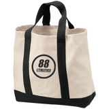 B400 Port & Co. 2-Tone Shopping Tote - 88apparelcompany
