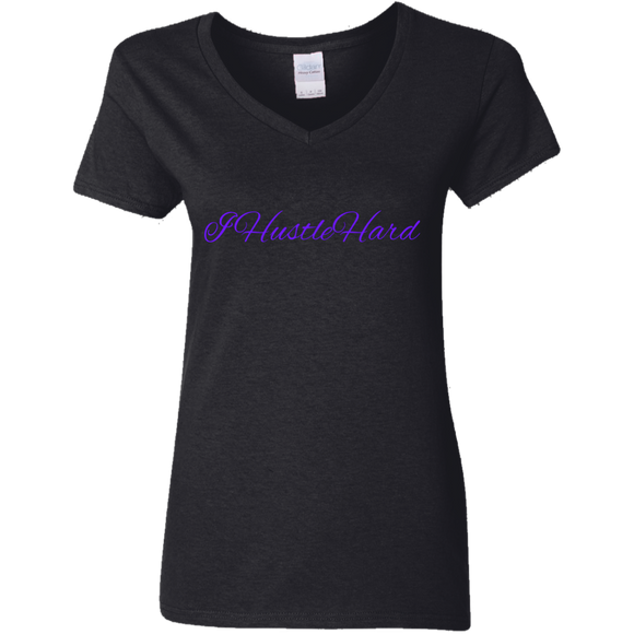 G500VL Gildan Ladies' 5.3 oz. V-Neck T-Shirt - 88apparelcompany