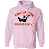 Stay strong Pullover Hoodie 8 oz.