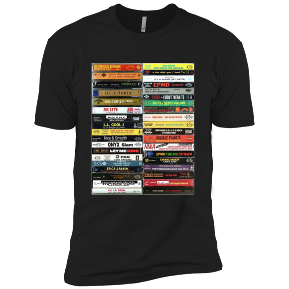 Old school tapes Premium Short Sleeve T-Shirt - 88apparelcompany