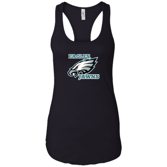 Eagles jawns Ladies Ideal Racerback Tank - 88apparelcompany