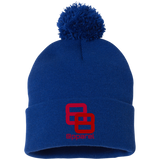 Double 8's Pom Pom Knit Cap - 88apparelcompany