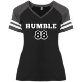 Humble Ladies' Game V-Neck T-Shirt - 88apparelcompany