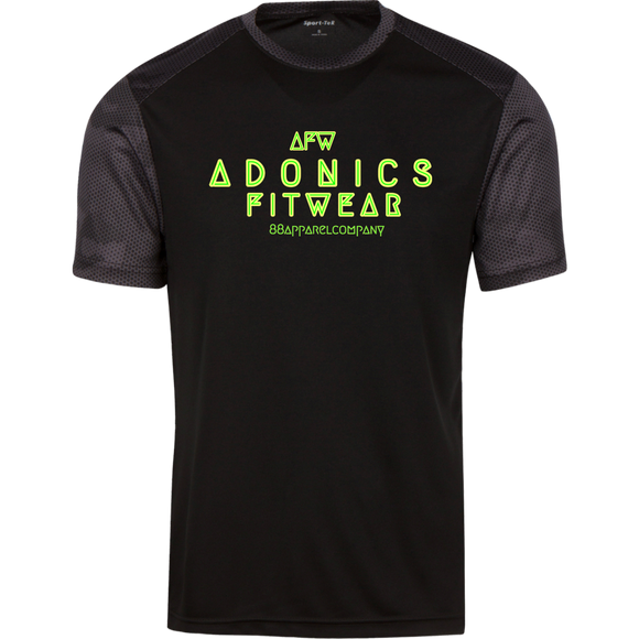 Adonics CamoHex Colorblock T-Shirt - 88apparelcompany