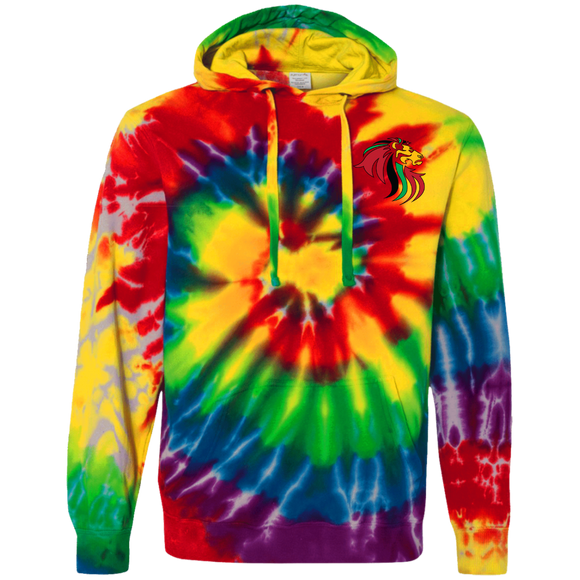 We matter Tie-Dyed Pullover Hoodie