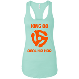 King 88 Next Level Ladies Ideal Racerback Tank - 88apparelcompany