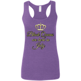 Queens are born in July Gildan Ladies' Softstyle Racerback Tank - 88apparelcompany
