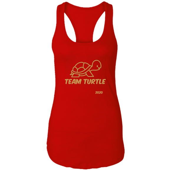 Team Turtle Next Level Ladies Ideal Racerback Tank