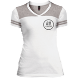 DT264 District Junior's Varsity V-Neck T-Shirt - 88apparelcompany