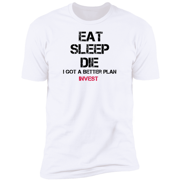 Eat sleep Next Level Premium Short Sleeve T-Shirt
