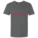 Hustle Hard Next Level Men's Premium Fitted SS V-Neck - 88apparelcompany