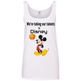 Disney Anvil Ladies' 100% Ringspun Cotton Tank Top - 88apparelcompany