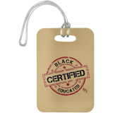 Sterile Black Educated Certified Luggage Bag Tag