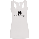 More Knowledge Gildan Ladies' Softstyle Racerback Tank