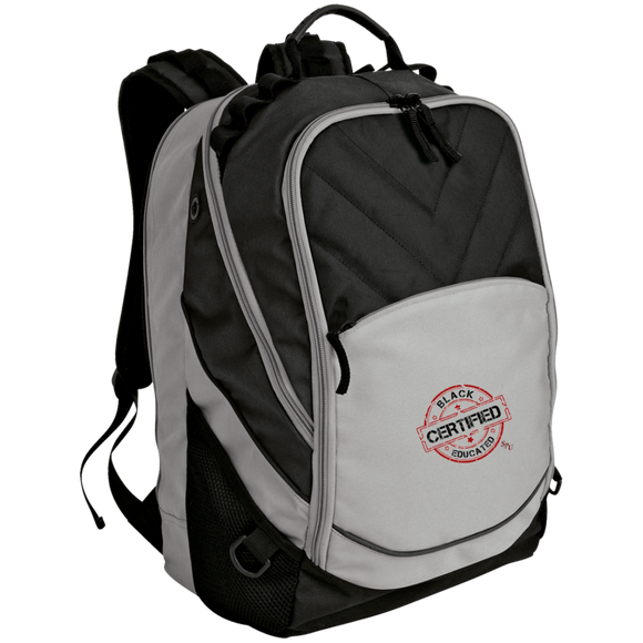 Sterile Black Educated Laptop Computer Backpack