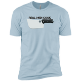 Real Men Cook Next Level Premium Short Sleeve T-Shirt