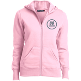 L265 Sport-Tek Ladies' Full-Zip Hoodie - 88apparelcompany