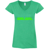 G64VL Gildan Ladies' Fitted Softstyle 4.5 oz V-Neck T-Shirt - 88apparelcompany