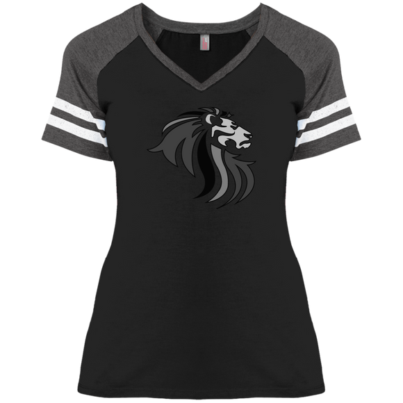 DM476 Disctrict Ladies' Game V-Neck T-Shirt - 88apparelcompany