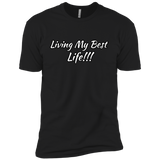 Living my best life Premium Short Sleeve T-Shirt - 88apparelcompany