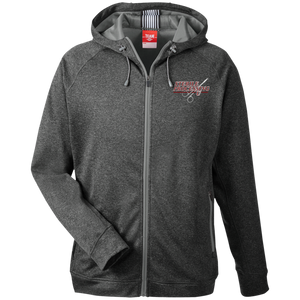 Sterile University Men's Heathered Performance Hooded Jacket