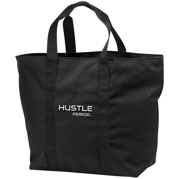HUSTLE Period Port & Co. All Purpose Tote Bag