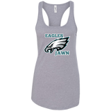 Eagles jawn Ladies Ideal Racerback Tank - 88apparelcompany