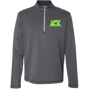A274 Adidas Men's Terry Heather 1/4 Zip - 88apparelcompany