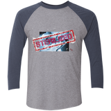 Sterilized Tri-Blend 3/4 Sleeve Baseball Raglan T-Shirt