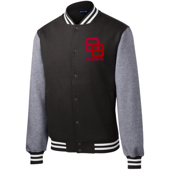 ST270 Sport-Tek Fleece Letterman Jacket - 88apparelcompany