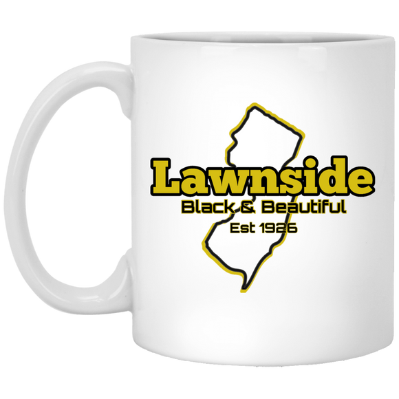 Lawnside 1926 11 oz. White Mug