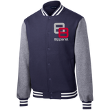 double 8 Sport-Tek Fleece Letterman Jacket - 88apparelcompany