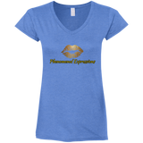 Phenomenal Expressions Ladies' Fitted Softstyle 4.5 oz V-Neck T-Shirt